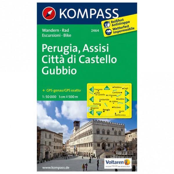 Kompass - Perugia - Vandrekort