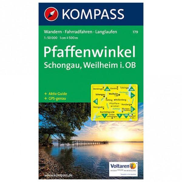 Kompass - Pfaffenwinkel - Hiking map