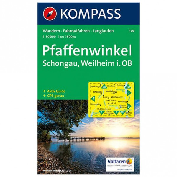 Kompass - Pfaffenwinkel - Hiking Maps