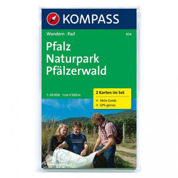 Kompass - Pfalz - Cartes de randonnée