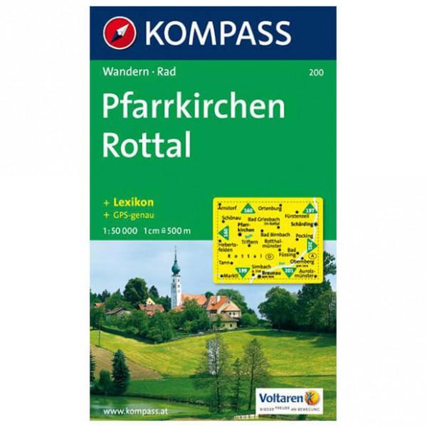 Kompass - Pfarrkirchen - Carte de randonnée