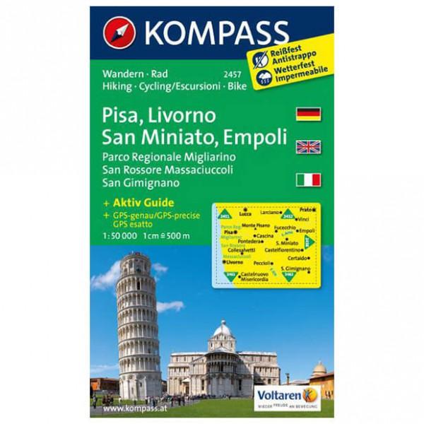 Kompass - Pisa - Cartes de randonnée