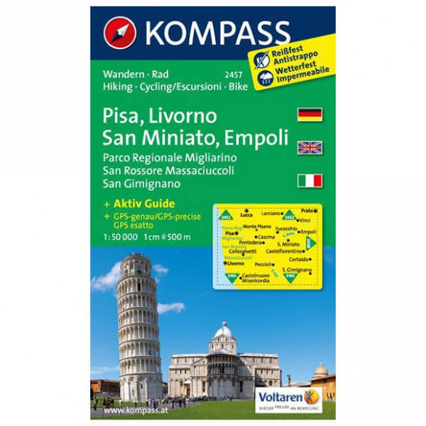 Kompass - Pisa - Turkart