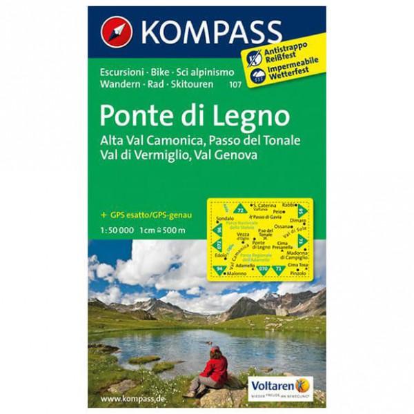 Kompass - Ponte di Legno - Wanderkarte