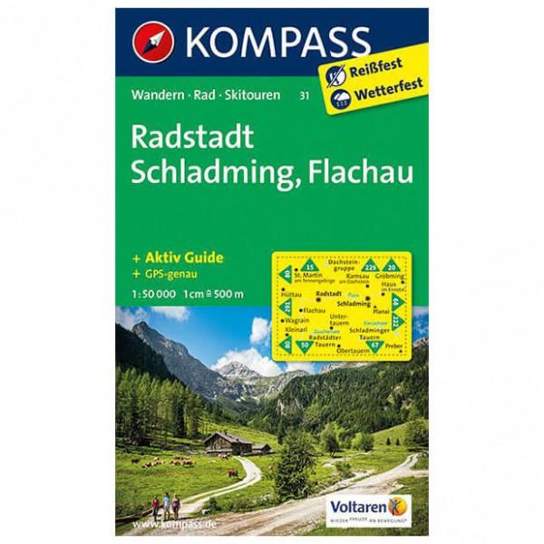 Kompass - Radstadt - Hiking Maps