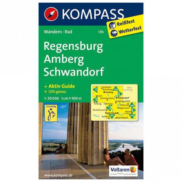 Kompass - Regensburg - Wandelkaarten