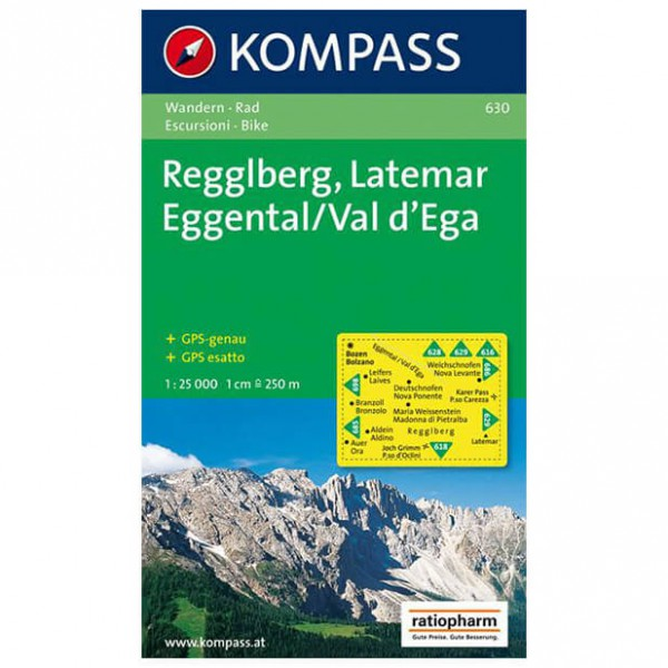 Kompass - Regglberg - Hiking Maps