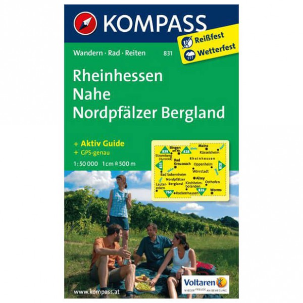 Kompass - Rheinhessen - Hiking Maps