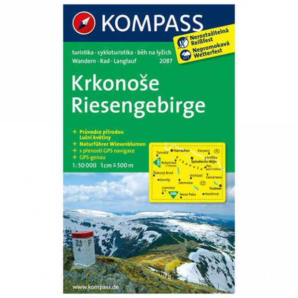 Kompass - Riesengebirge / Krkonose - Hiking Maps
