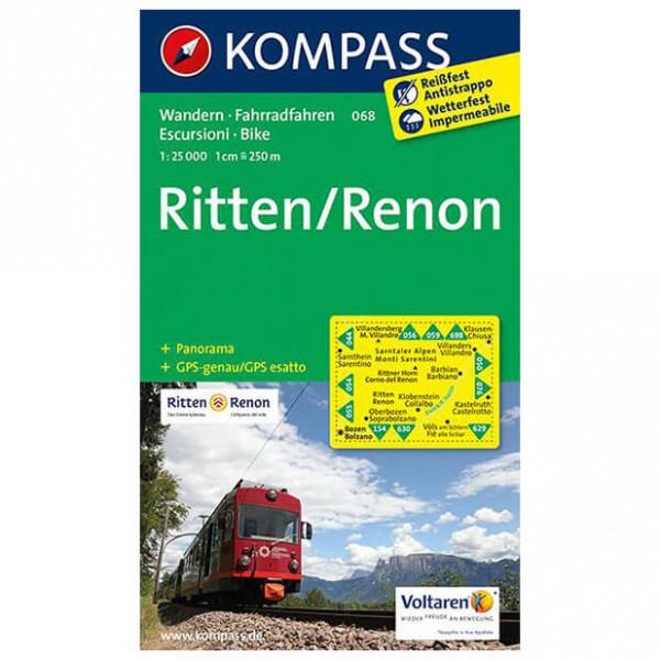 Kompass - Ritten /Renon - Hiking Maps