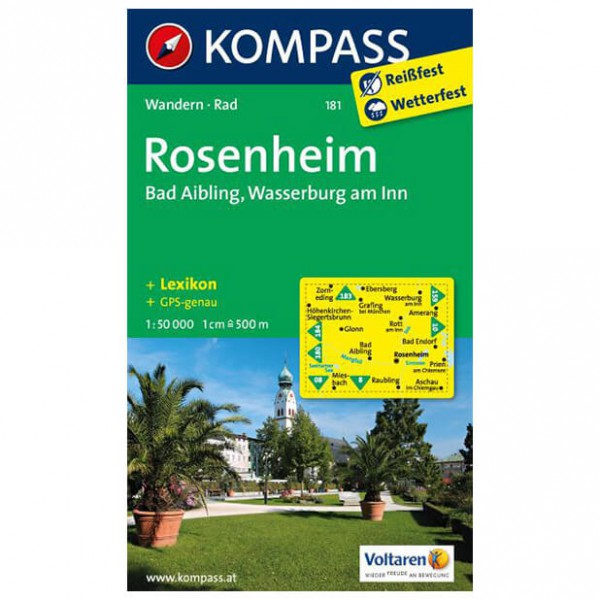 Kompass - Rosenheim - Hiking Maps