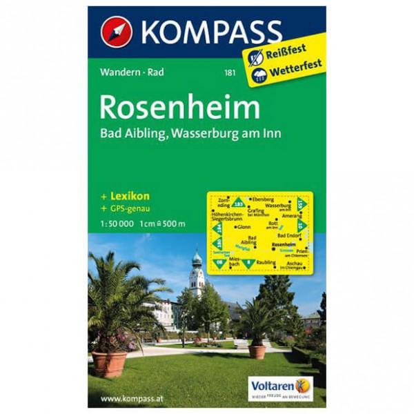 Kompass - Rosenheim - Wanderkarte