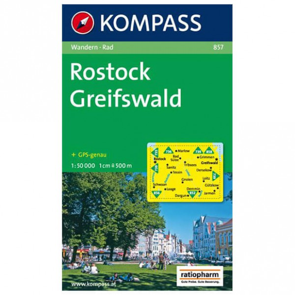 Kompass - Rostock - Hiking map
