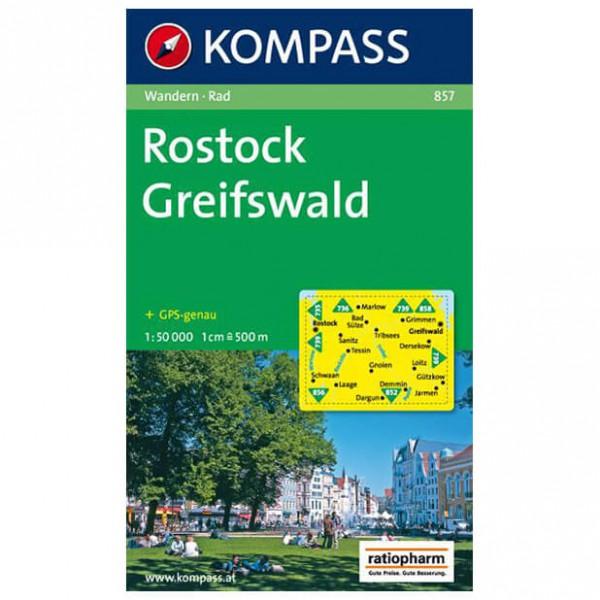 Kompass - Rostock - Wandelkaart