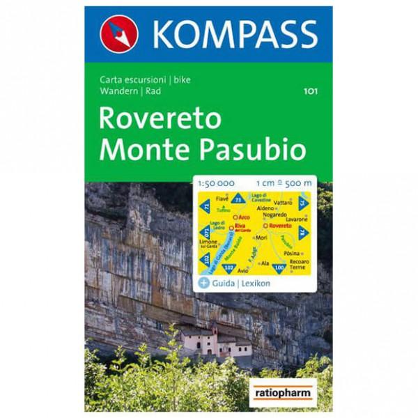 Kompass - Rovereto - Cartes de randonnée