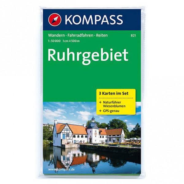 Kompass - Ruhrgebiet - Wanderkarte