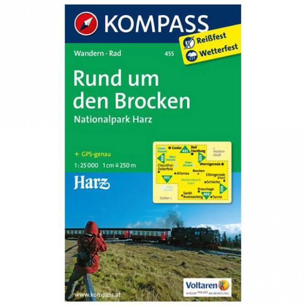 Kompass - Rund um den Brocken - Cartes de randonnée