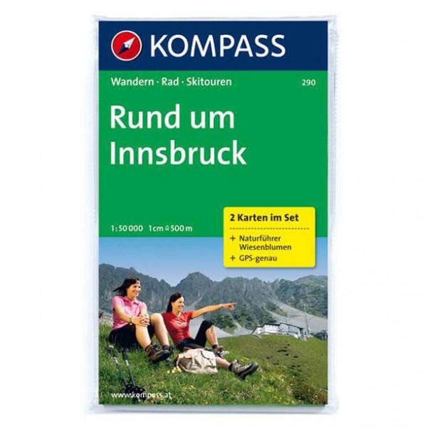 Kompass - Rund um Innsbruck - Wanderkarte