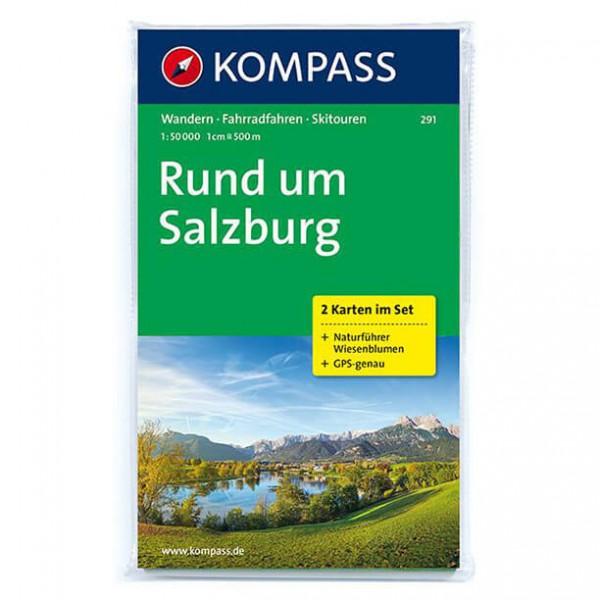 Kompass - Rund um Salzburg - Vandrekort