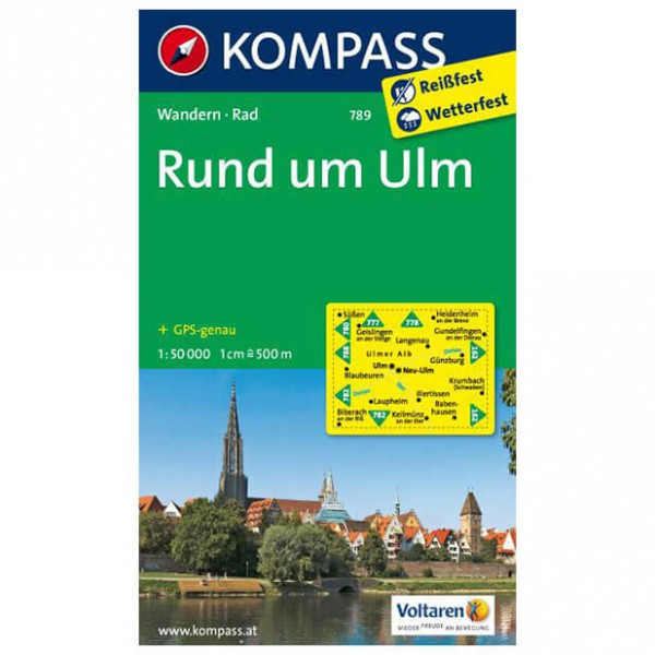 Kompass - Rund um Ulm - Hiking Maps