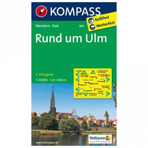 Kompass - Rund um Ulm - Wandelkaart