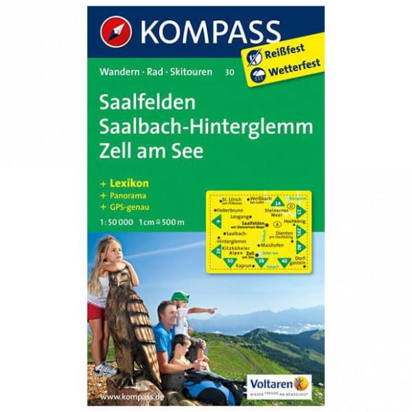 Kompass - Saalfelden - Vaelluskartat