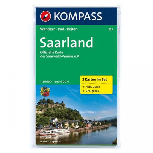 Kompass - Saarland - Wanderkarte
