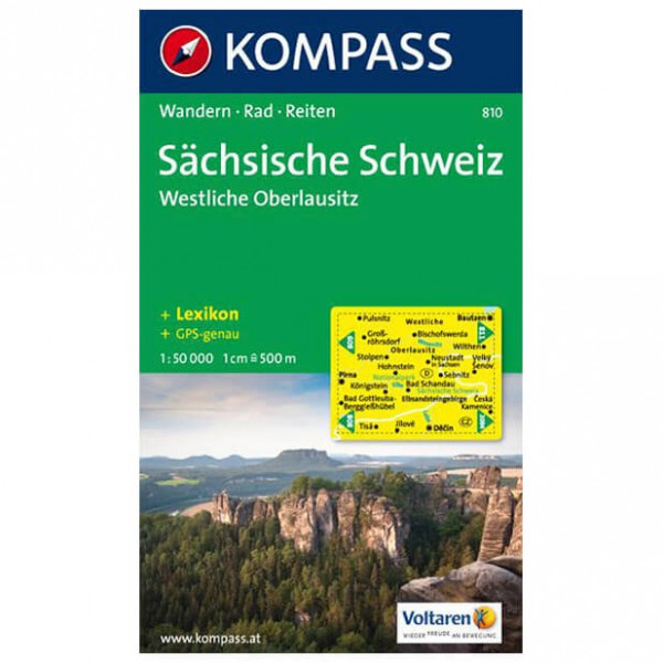 Kompass - Sächsische Schweiz - Wanderkarte