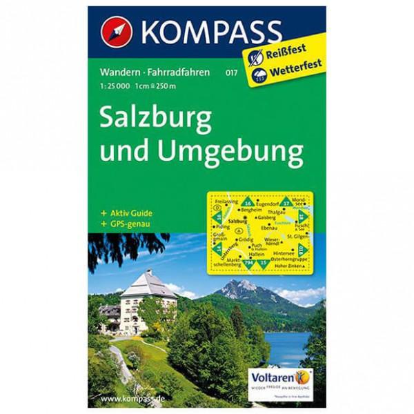 Kompass - Salzburg und Umgebung - Wandelkaart