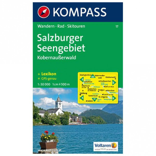 Kompass - Salzburger Seengebiet - Hiking Maps