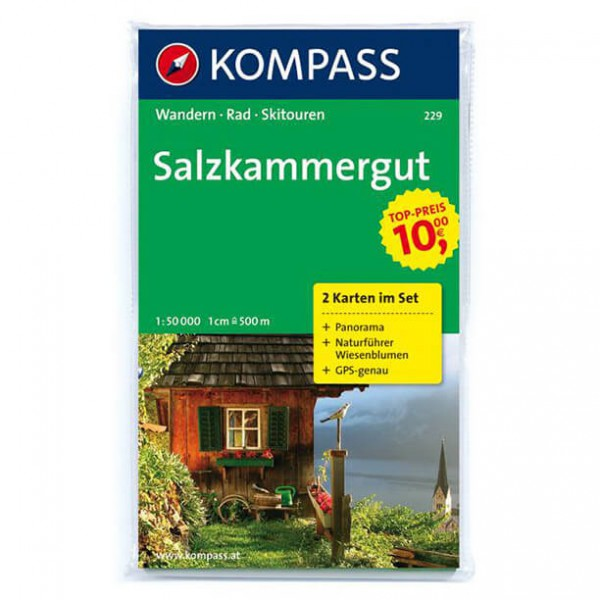 Kompass - Salzkammergut - Hiking Maps
