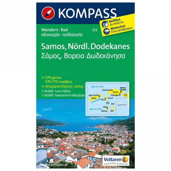 Kompass - Samos - Cartes de randonnée