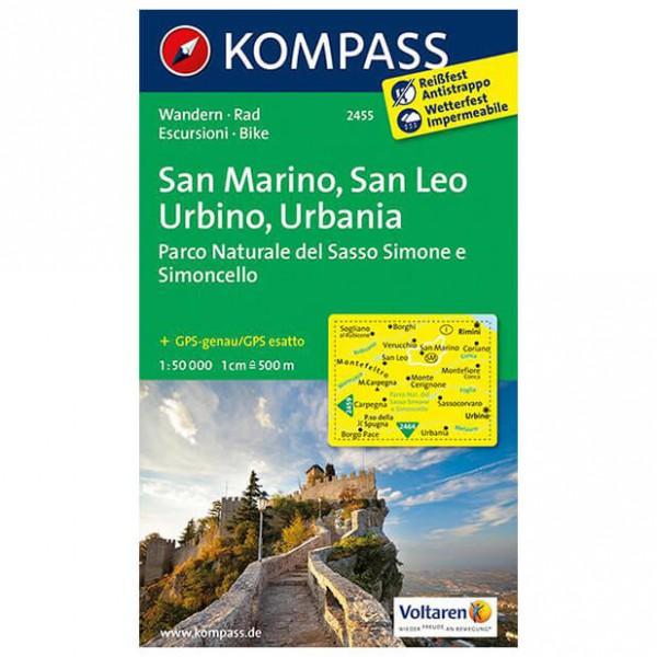 Kompass - San Marino - Wanderkarte