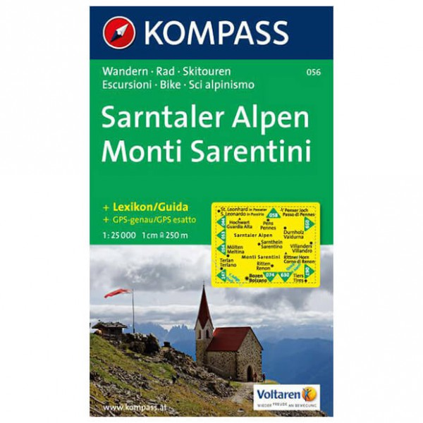 Kompass - Sarntaler Alpen - Wanderkarte