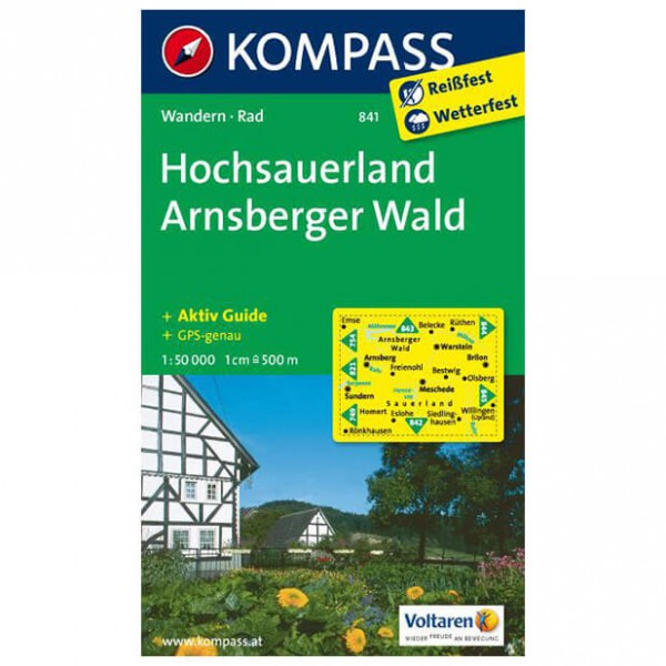 Kompass - Sauerland 1 - Hiking Maps