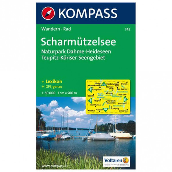 Kompass - Scharmützelsee - Hiking Maps