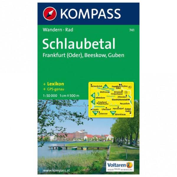 Kompass - Schlaubetal - Wanderkarte