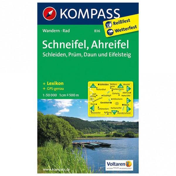 Kompass - Schneifel - Mapa de senderos