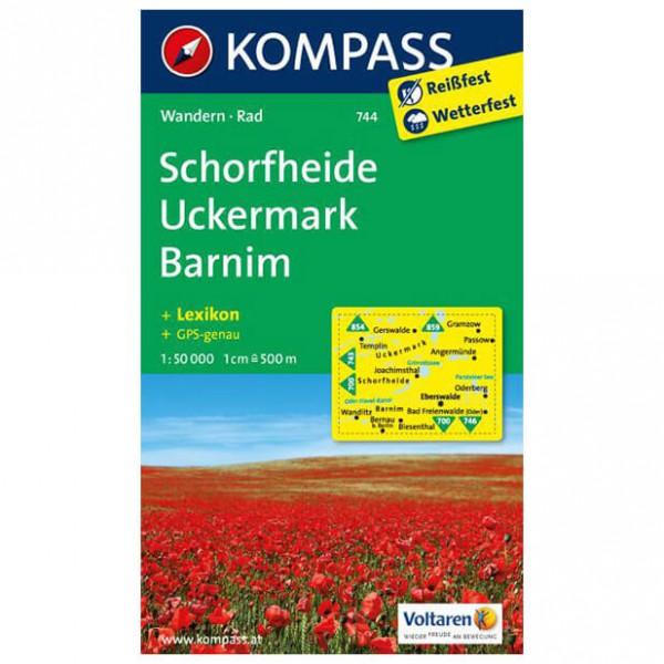Kompass - Schorfheide /Uckermark /Barnim - Hiking Maps