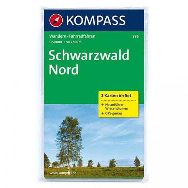 Kompass - Schwarzwald Nord - Cartes de randonnée