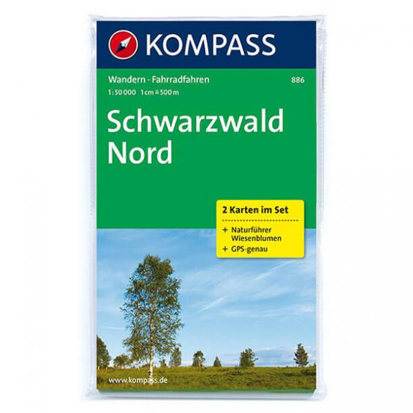 Kompass - Schwarzwald Nord - Wandelkaarten