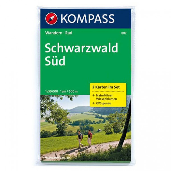 Kompass - Schwarzwald Süd - Wandelkaarten