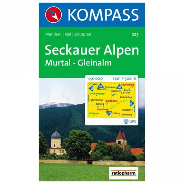 Kompass - Seckauer Alpen - Cartes de randonnée