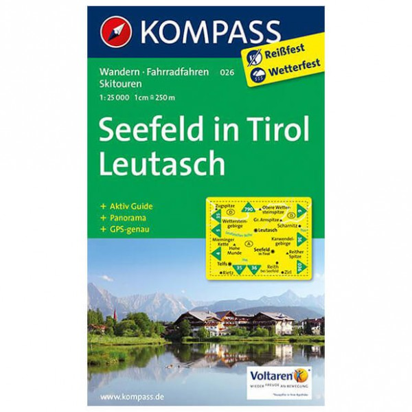 Kompass - Seefeld in Tirol - Hiking Maps