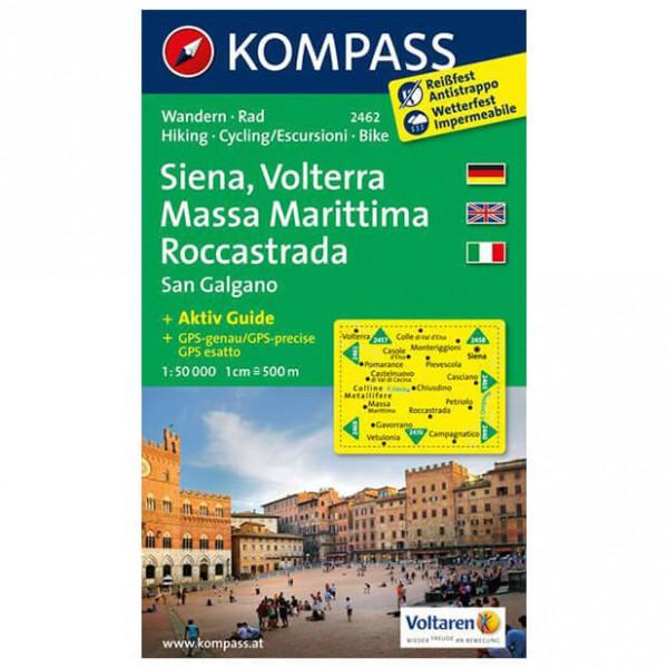 Kompass - Siena - Vandringskartor
