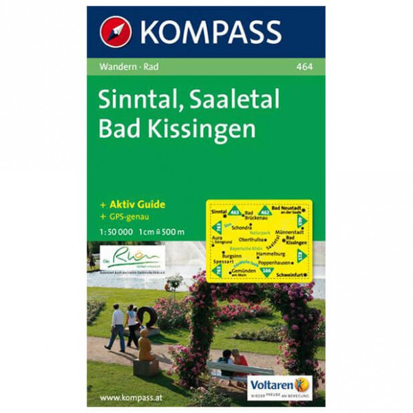Kompass - Sinntal - Hiking Maps