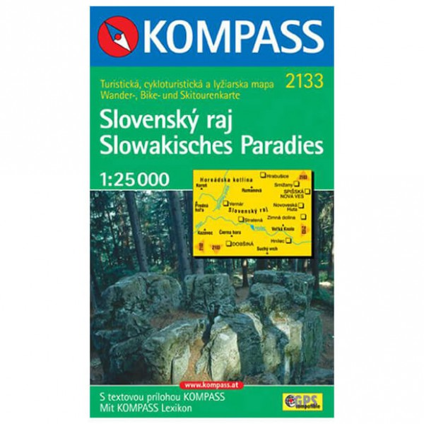 Kompass - Slovensky raj - Hiking Maps