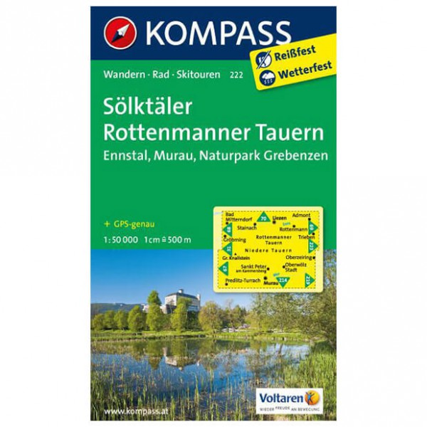 Kompass - Sölktäler - Vaelluskartat