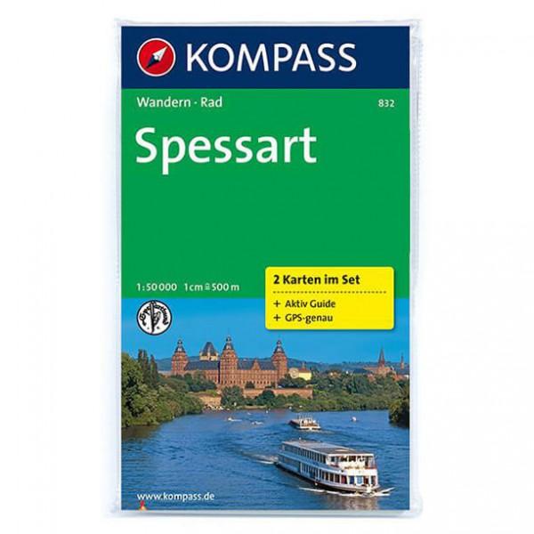 Kompass - Spessart - Vandrekort