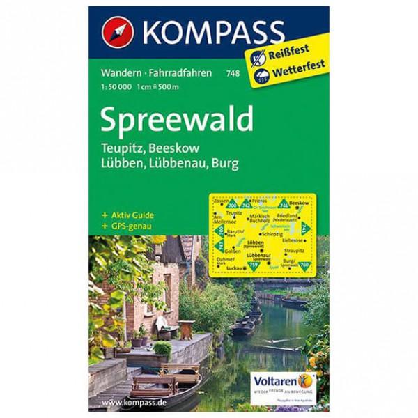 Kompass - Spreewald - Wanderkarte